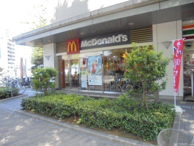 東伏見駅北口徒歩1分に所在するマクドナルドです