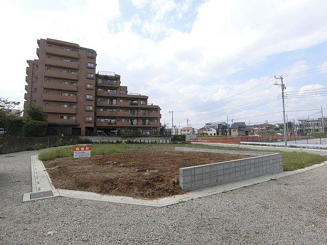 さいたま市緑区の区画整理地の全景