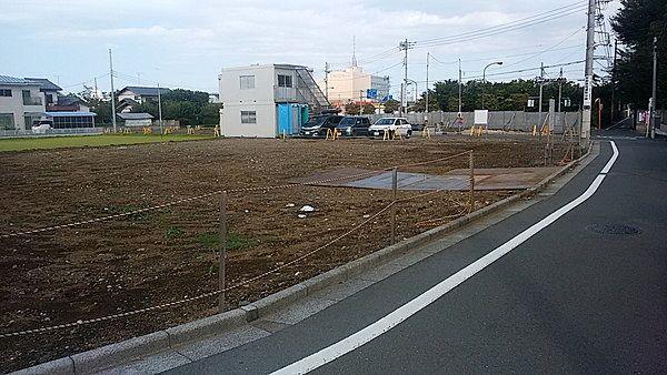 (仮称)アスク保谷保育園(西東京市泉町3丁目)は荒井竹バス停の直ぐそばです