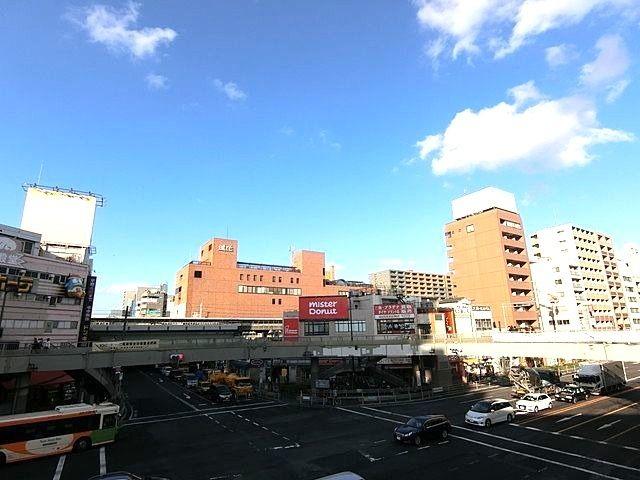 京葉道路の亀戸駅交差点