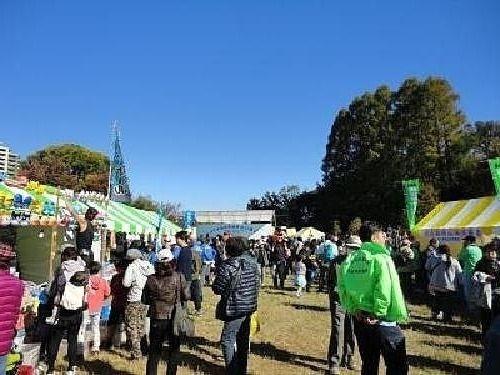 西東京いこいの森公園で開催された第17回西東京市民まつりの様子