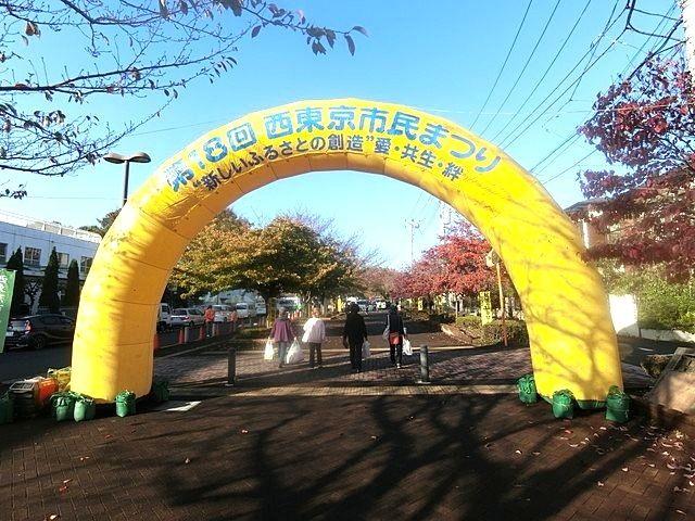 第18回西東京市民まつりの入場ゲート