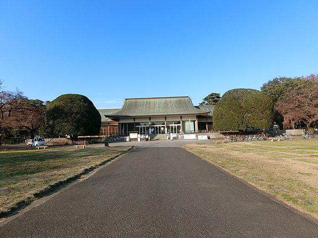 江戸東京たてもの園の外観