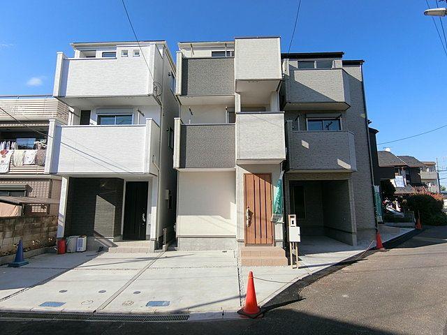 西東京市富士町6丁目新築住宅の外観写真
