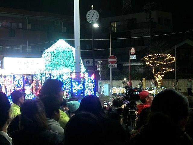今年も点灯した東伏見のイルミネーション
