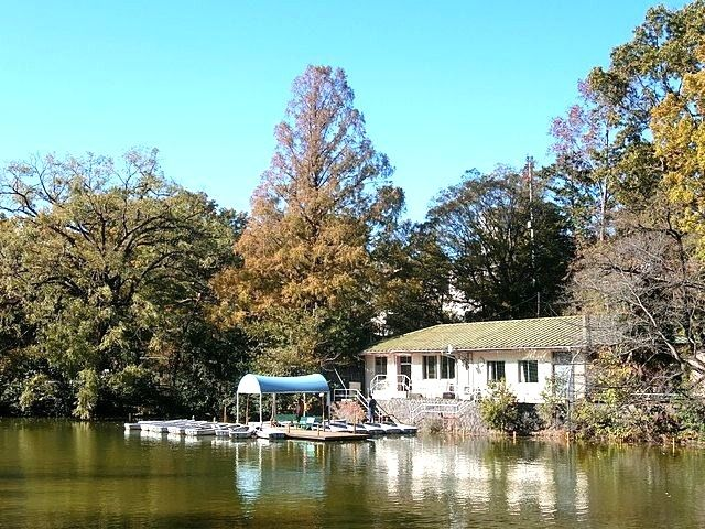 武蔵関公園のボート場