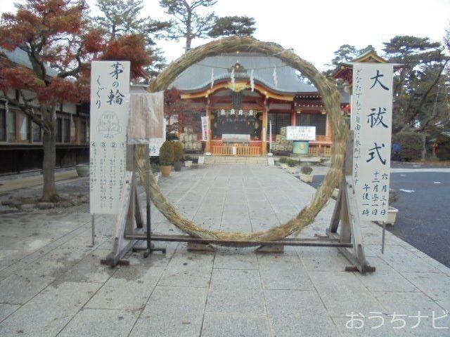 東伏見稲荷神社に恒例の朔日参り、茅の輪くぐりをしてきました