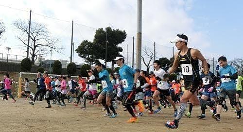 昨年のマラソンのスタートの様子