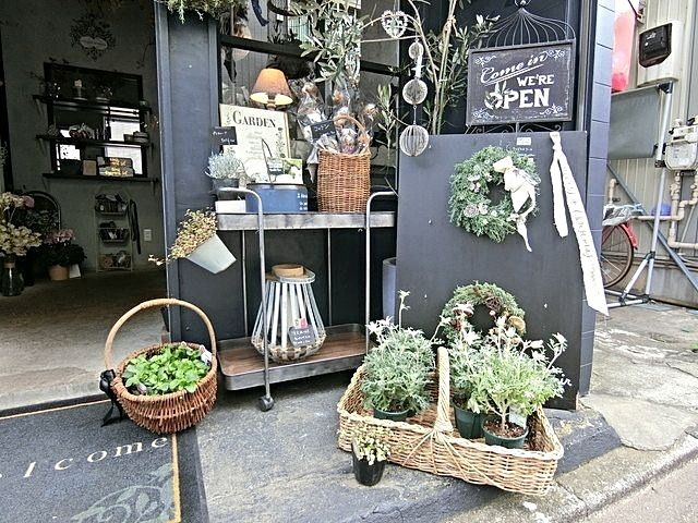 atelier flocorir の店頭