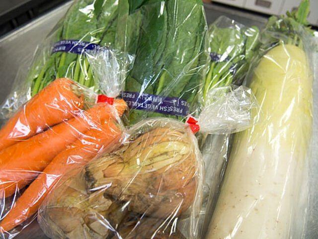 麦わらマルシェ 練馬産の野菜はいかがですか