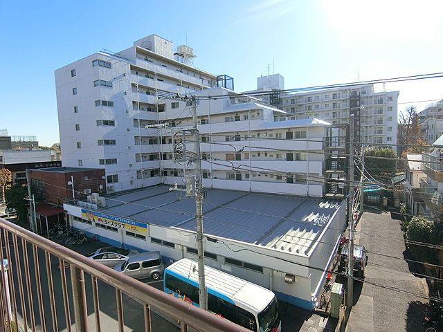 東海武蔵境マンションのバルコニーからの眺望