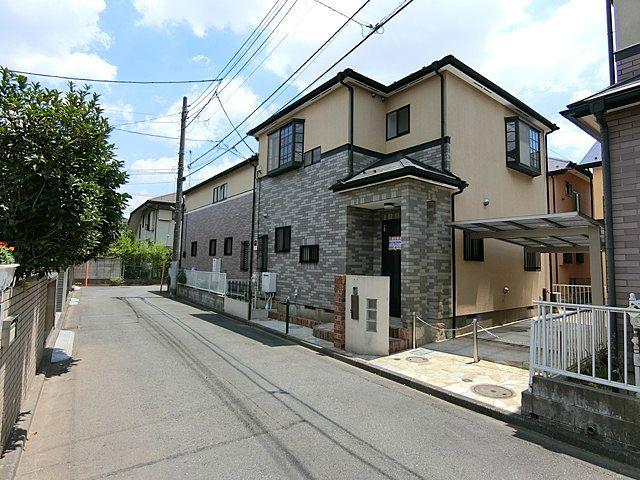 西東京市富士町5丁目賃貸住宅の外観です