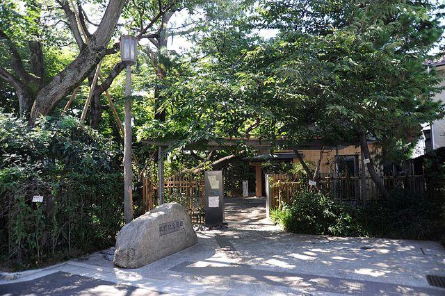牧野記念庭園入口