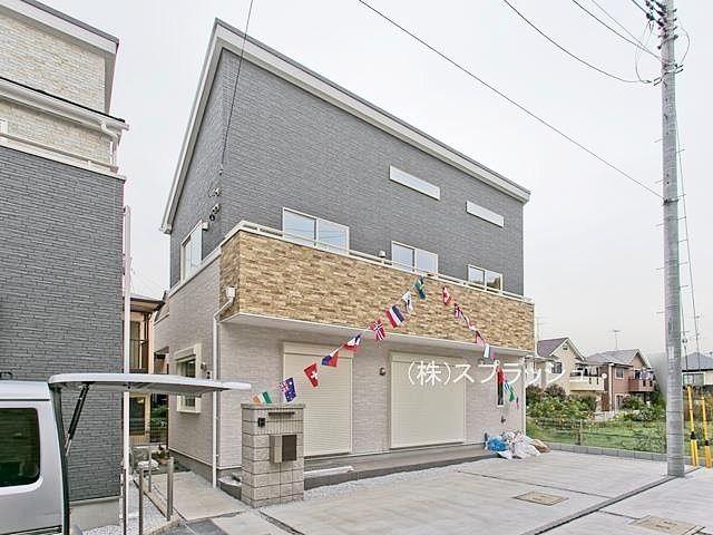 西東京市立保谷小学校学区域の新築一戸建て!間取り4LDKとたっぷり収納できる固定階段付き小屋裏収納が魅力の家!西東京市泉町3丁目