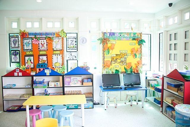 保育園の教室の様子