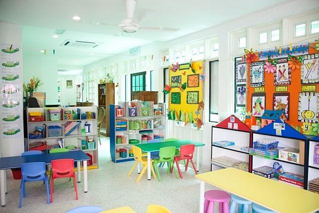 とってもカワイイ保育園の教室のイメージ